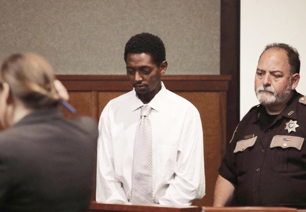 Abil Teshome stands in court on Friday.