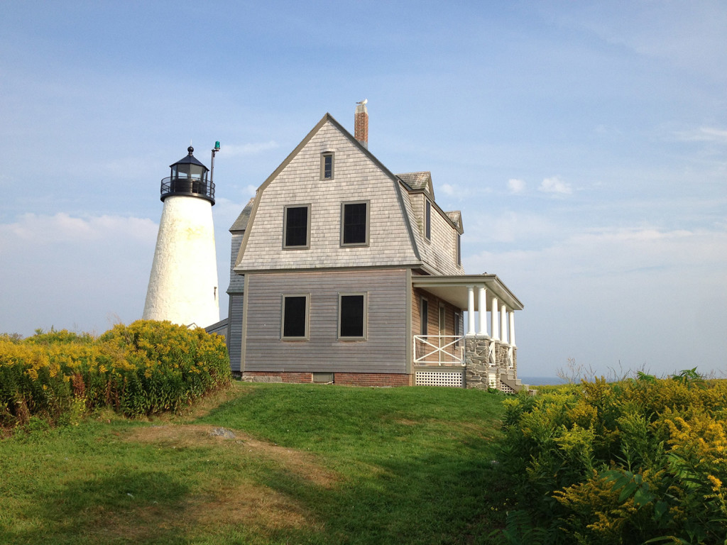 A combination of grants and donations will allow the Wood Island Lighthouse to renovate the lighthouse keeper's house on the island. Contributed photo