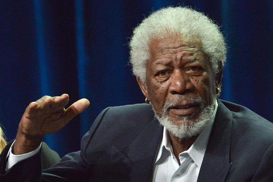 "Morgan Freeman: ""The world will never know her artistry and talent, and how much she had to offer."" Invision / AP photo"