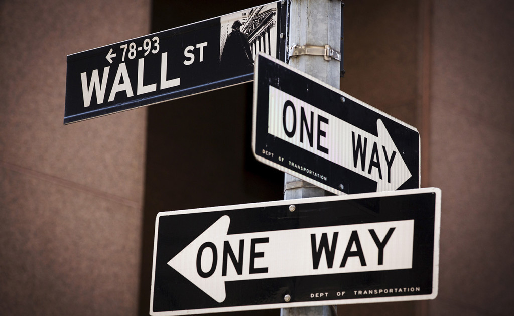 "Wall Street had a stomach-churning day Monday, when the Dow plunged more than 1,000 points at one point before finishing down 588.40 points, or 3.6 percent, at 15,871.35. The Standard & Poor's 500 index slid 77.68 points, or 3.9 percent, to 1,893.21, and is now in ""correction"" territory, Wall Street jargon for a drop of at least 10 percent from a recent peak. The last market correction was nearly four years ago. Reuters"
