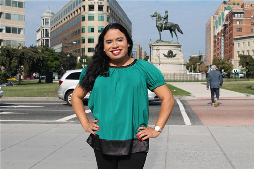 Raffi Freedman-Gurspan Freedman-Gurspan previously was a policy adviser for the National Center for Transgender Equality's racial and economic justice initiative. Photo provided by the National Center for Transgender Equality