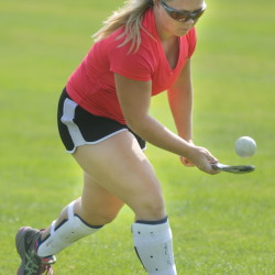 Gardiner's Nickyia Lovely dribbles during practice Tuesday at Gardiner Area High School.