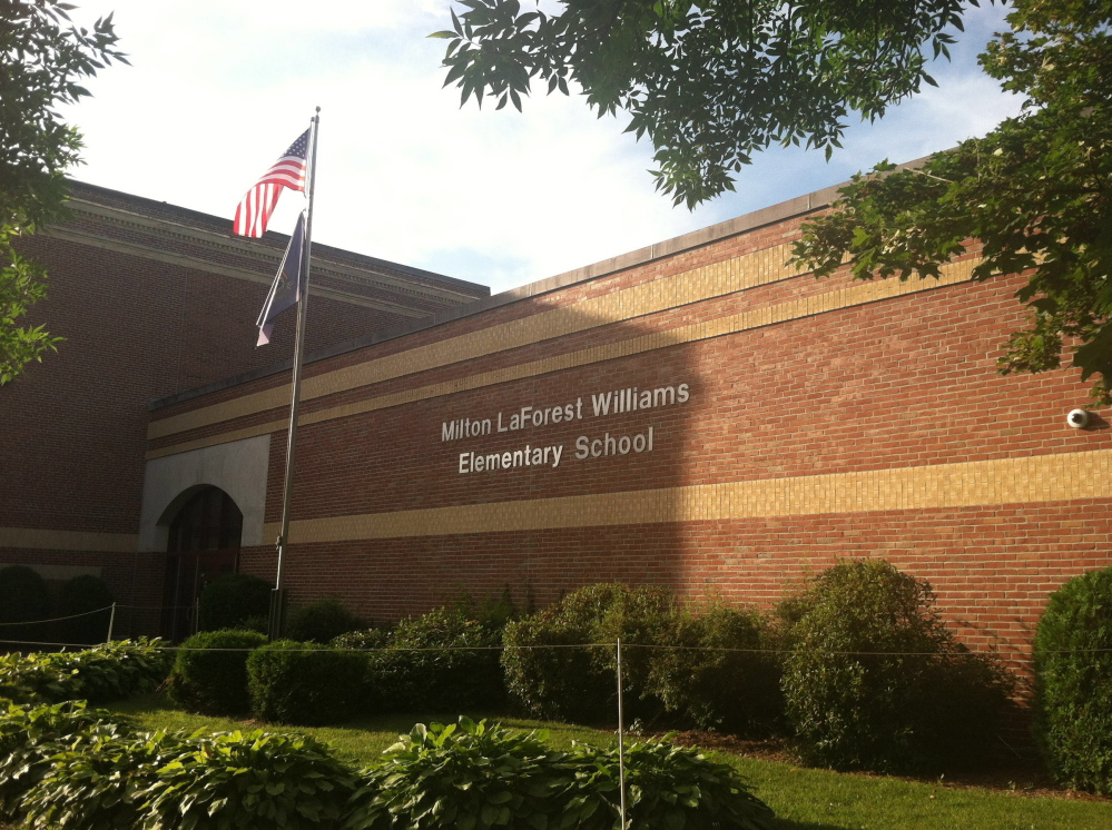 Williams Elementary School is one of 11 in Regional School Unit 18 that will be assessed by a committee set up to offer recommendations to improve efficiency and costs at the district's schools. Fixing leaks at the school was included in last year's supplemental budget request, but wasn't approved by voters.