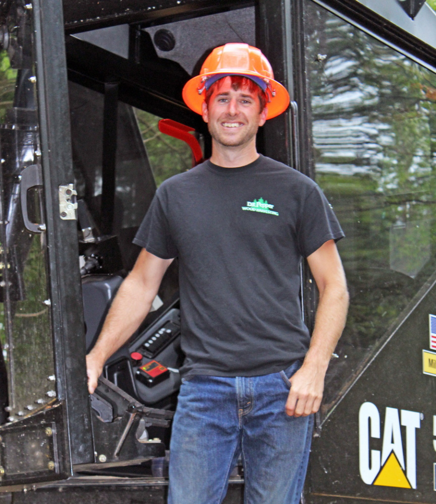 Dean Pepper, of Fayette, was named Maine's Outstanding Logger by the Maine Forest Product Council last week.