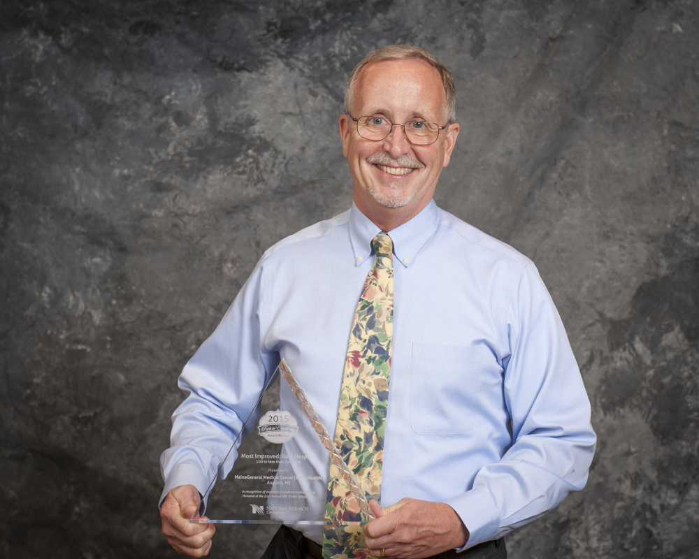 Daniel Spofford, patient experience specialist at MaineGeneral Medical Center, accepted the 2015 Path to Excellence award Sept. 20 in a ceremony in Washington, D.C.
