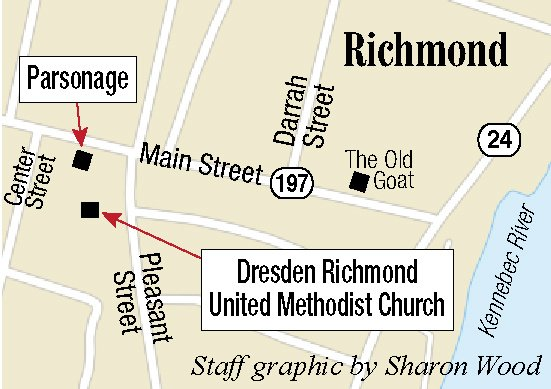 Richmond church parsonage demolished centralmaine the parsonage at the dresden richmond united methodist church in downtown richmond was torn down monday staff photo by andy molloy malvernweather Images