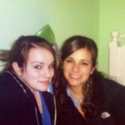 Rachel Remillard and her sister, Cindy, who died of a heroin overdose in November 2012. Courtesy of Rachel Remillard