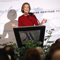 An event featuring Carly Fiorina drew a crowd of over 500 on Thursday.