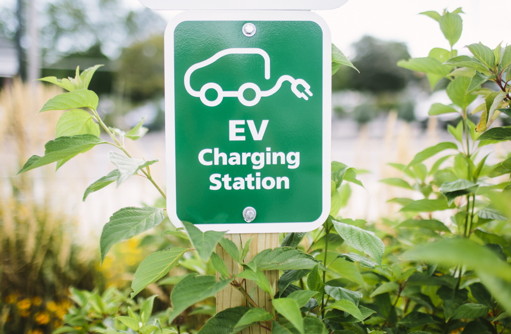 CAR CHARGING STATIONS are accessible to the public.
