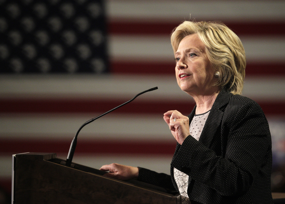 If the pot industry is prepared to wrap its arms around Democratic presidential candidate Hillary Rodham Clinton, she has been far more chilly in response. The Associated Press