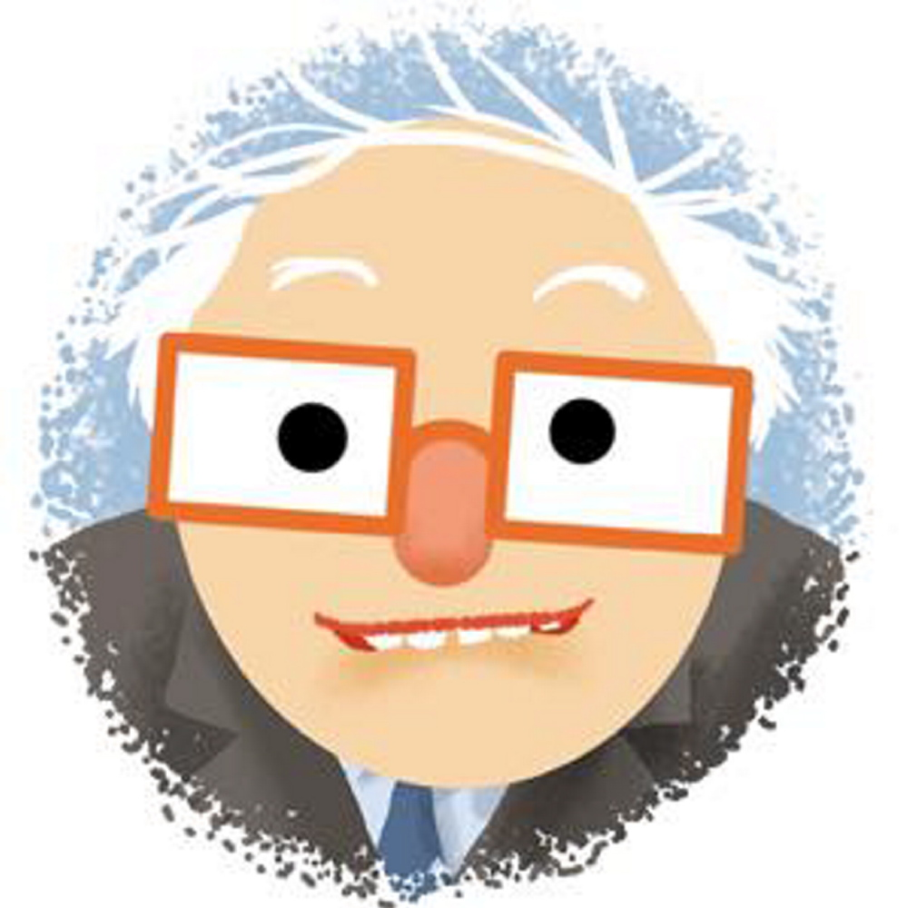 "Scott Nash wanted his Sanders emojis to have ""a Muppet-like quality."""
