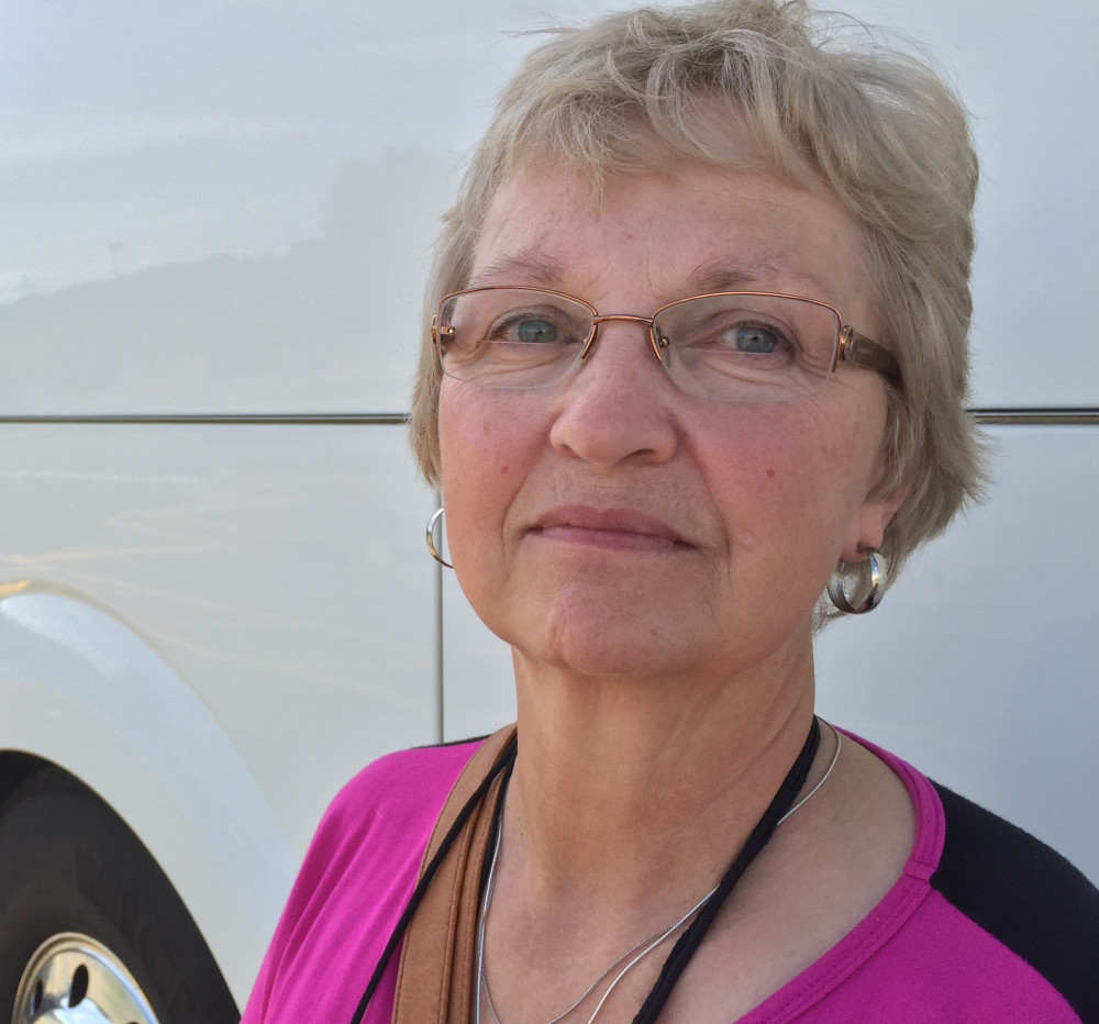 Kay Saucier of Levant went with a group of Mainers to see Pope Francis this weekend in Philadelphia. She says weekly Mass and sharing in the Eucharist sustained her through many struggles.