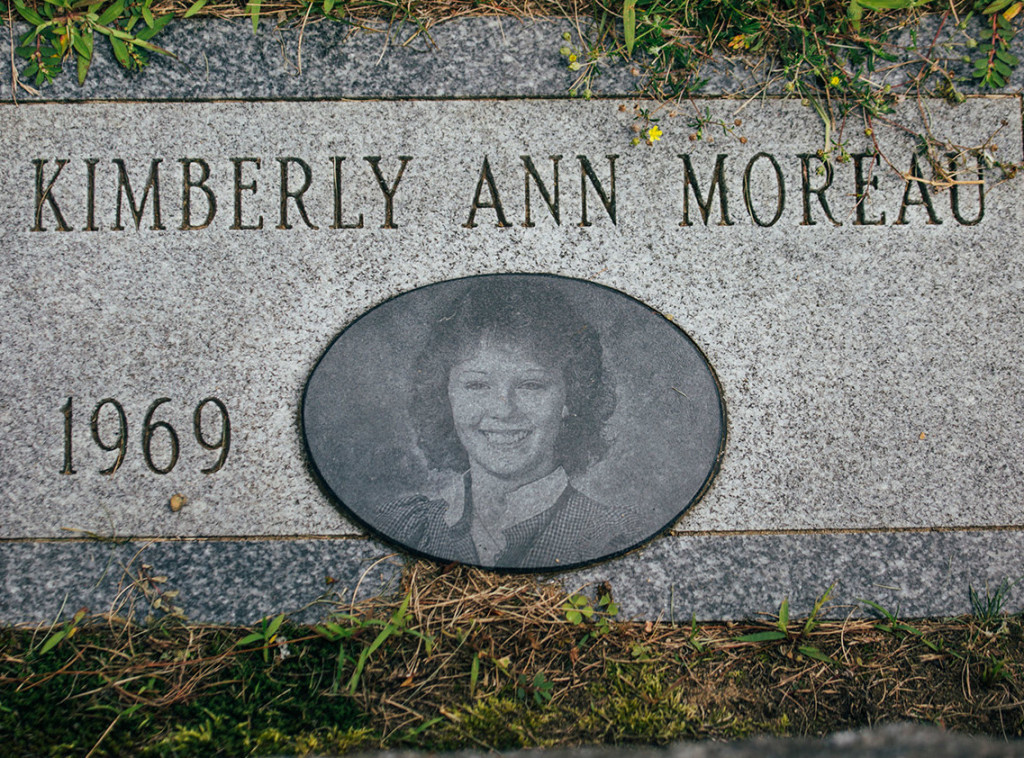 Richard Moreau had a headstone made for his daughter Kimberly Moreau, who disappeared in 1986.