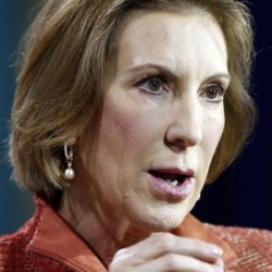 Republican presidential candidate Carly Fiorina, the former Hewlett-Packard chief executive, speaks during an education summit on Aug. 19 in Londonderry, N.H. The Associated Press