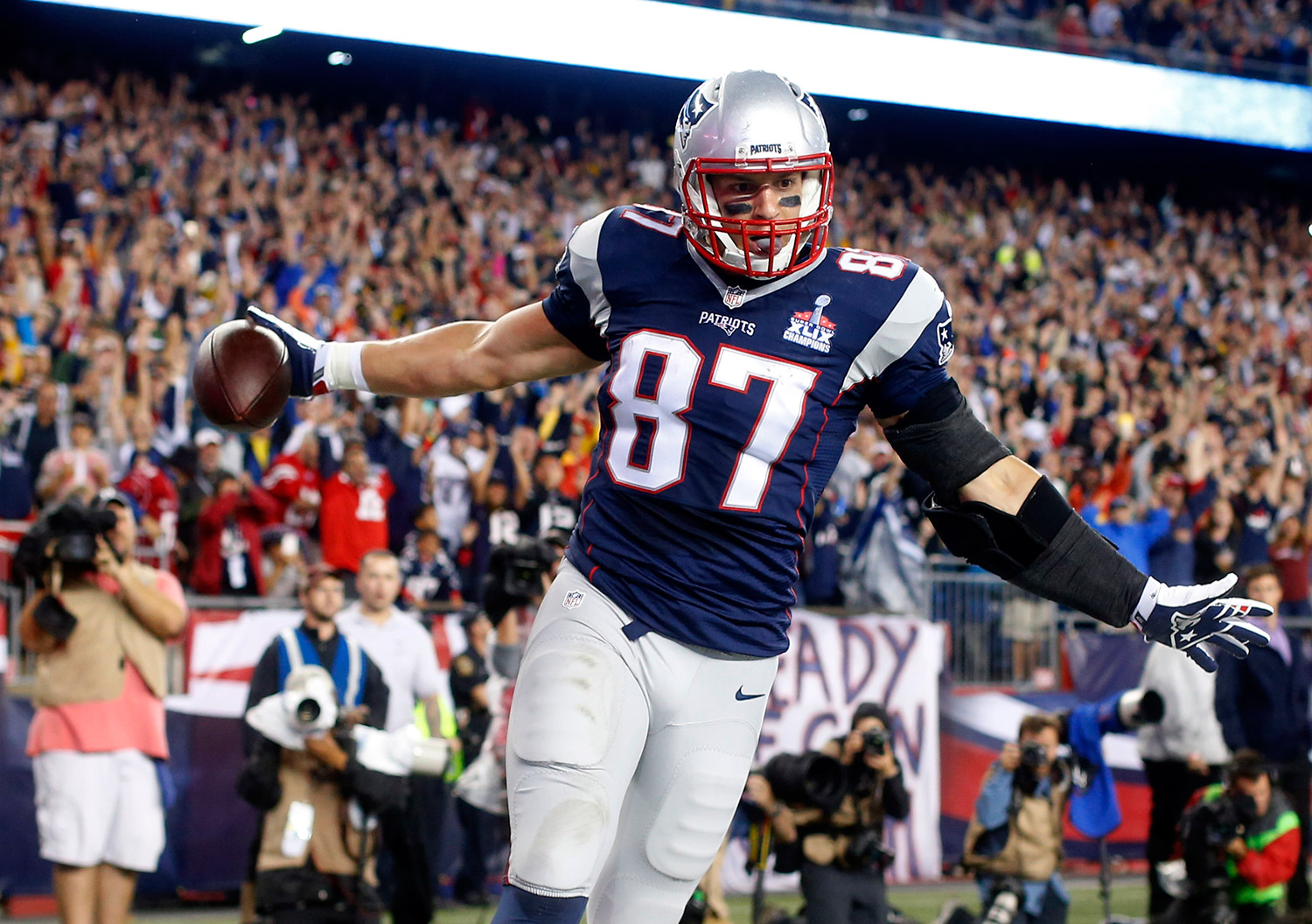 Image result for rob gronkowski celebration
