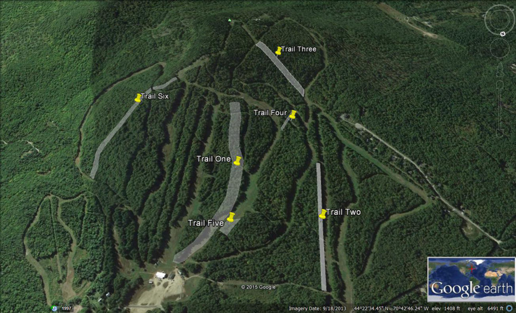 Mt. Abram shows its proposed trail expansions on this Google Earth map.