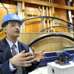Habib Dagher, founding director of the Advanced Structures and Composites Center at the University of Maine in Orono, is to be recognized by the White House on Tuesday for his innovation.