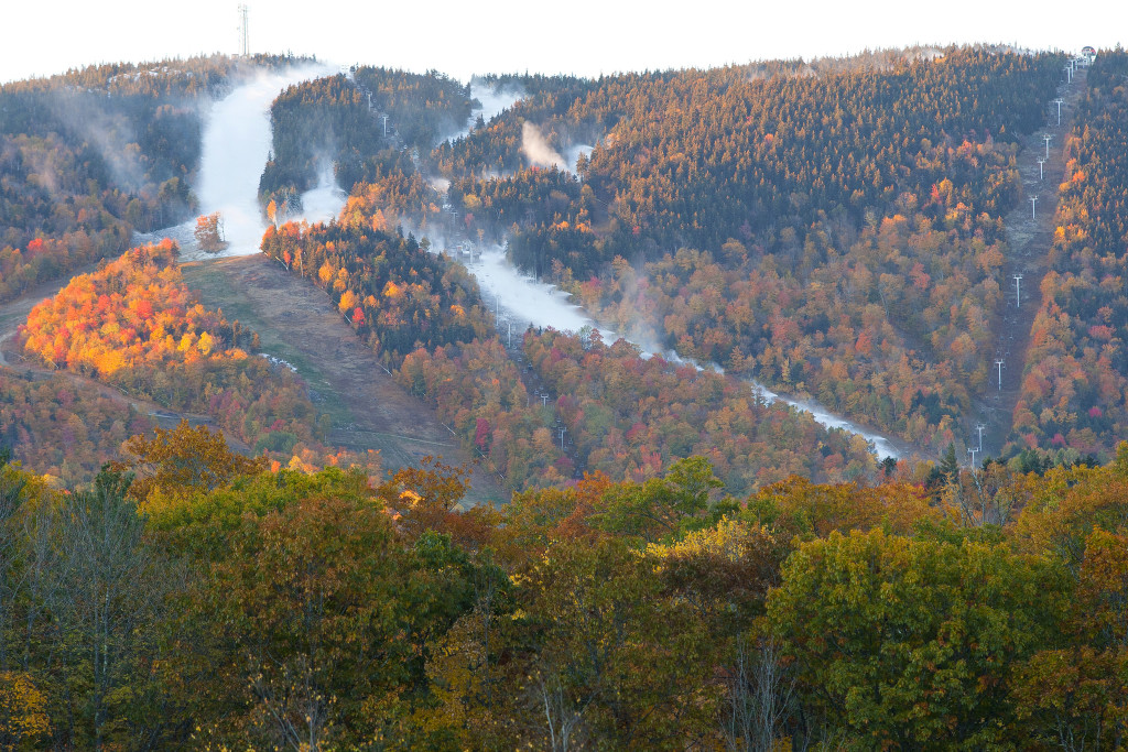 A Kansas City real estate investment trust is buying Sunday River, pictured, and Sugarloaf ski resorts.