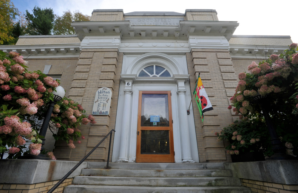 The Wilton Library is celebrating the 100th year in it's building on Goodspeed Street.