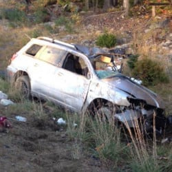 David Dubois of Fairfield died Sunday when his SUV went off the road and rolled over on U.S. Route 201 in West Forks.