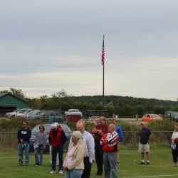 CARA installed a 45-foot flagpole with an 8-by-12 American flag which is highly visible throughout the complex.