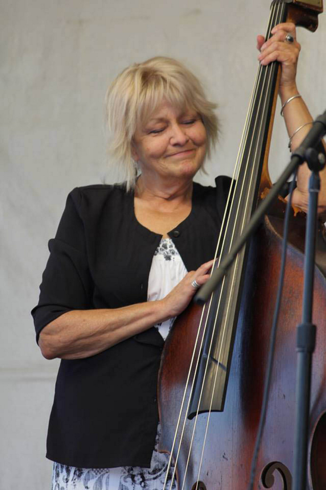 "Dorothy Farrell, Moscow town clerk, died unexpectedly Oct. 10, and, among other things, was a talented musician. ""This is a band picture showing her doing what she loved the most,"" her partner, Wilf Clark, said."