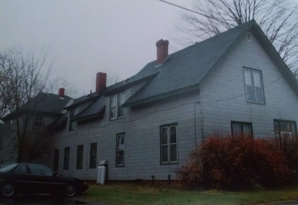 The house at 95 Pleastant St., in Waterville, where Charles Terry lived until 1941, when his family moved to Winslow. The house was torn down shortly after this picture was taken in 1995, the site where Kennebec Savings Bank is now.