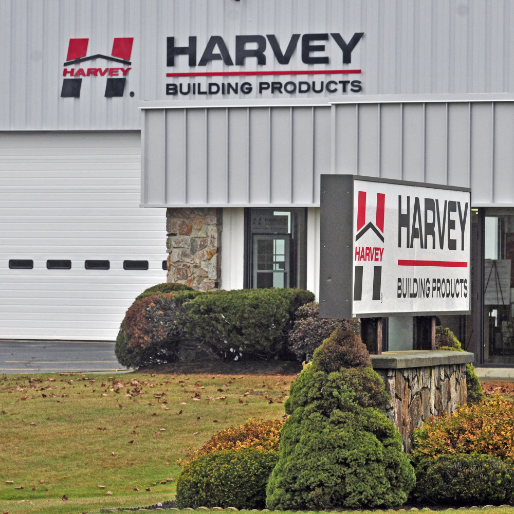 The Harvey Building Products warehouse on Anthony Avenue in Augusta is set to open Thursday.