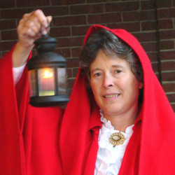 The Lady in the Red Cloak