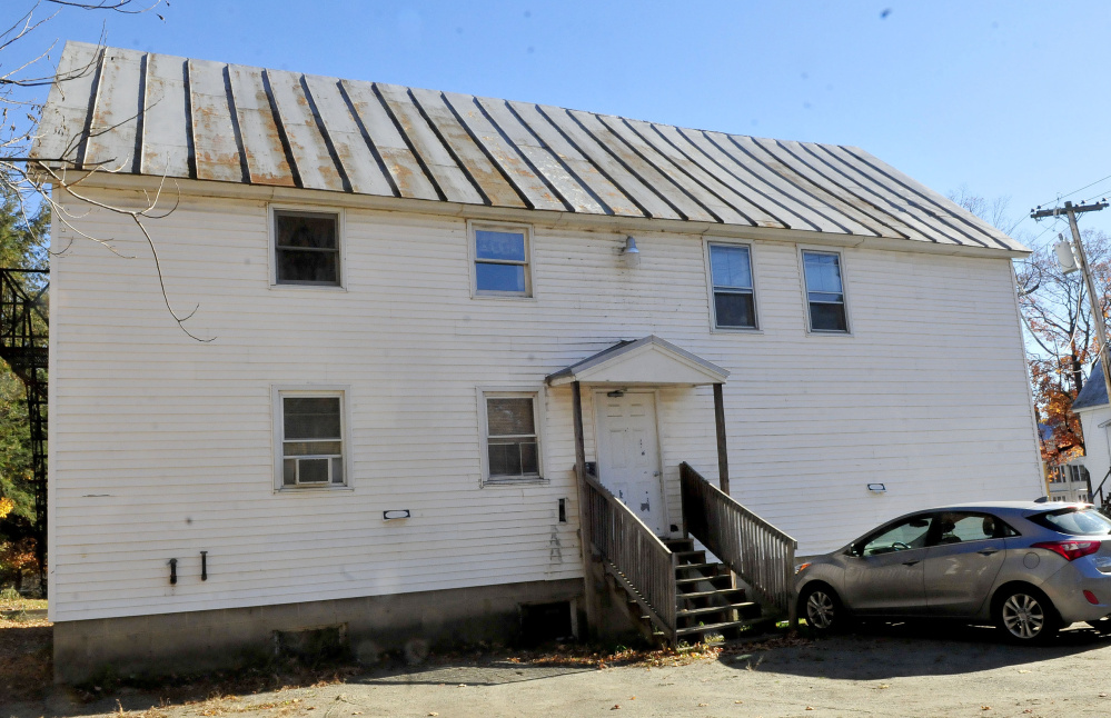 The rear apartment at 378 Water St. in Skowhegan was the scene of a fire early Monday, where a tenant reportedly started a fire and assaulted responding firefighters.