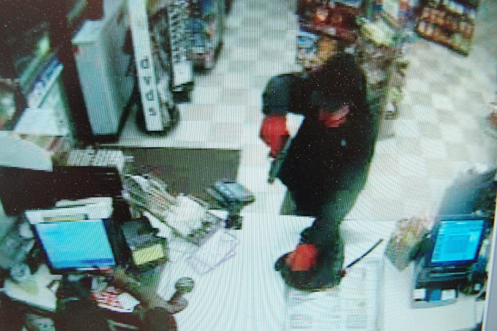 Surveillance footage from the Sept. 2014 Cumberland Farms robbery.