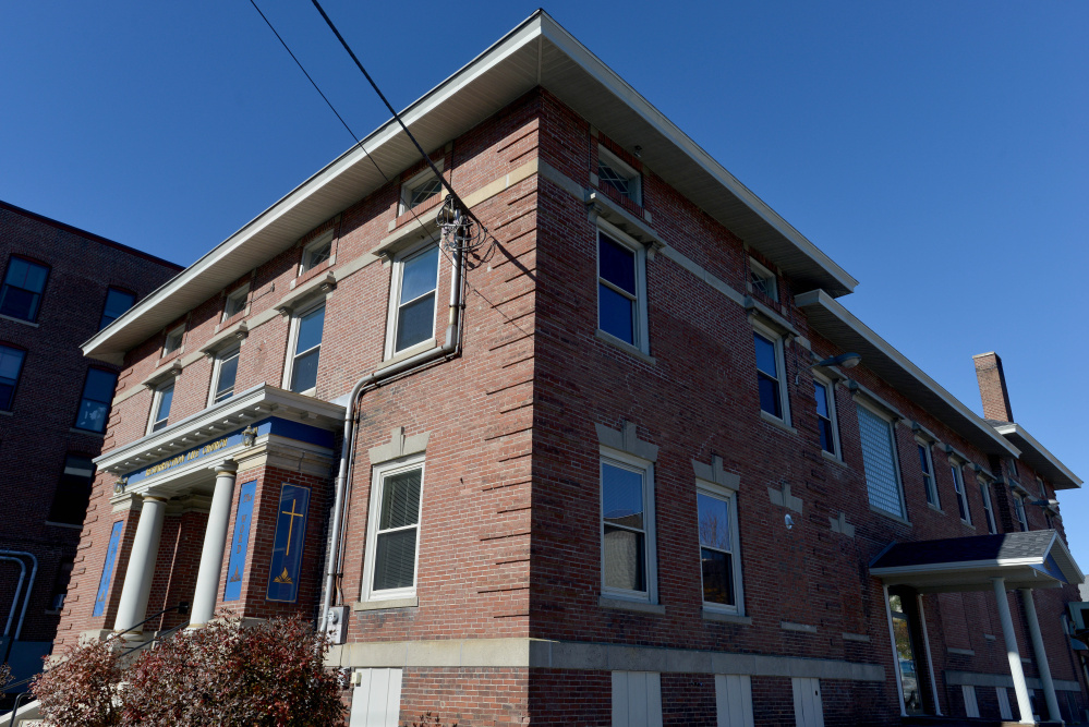 Colby College has bought the building at 13-15 Appleton St. in Waterville, shown here on Saturday