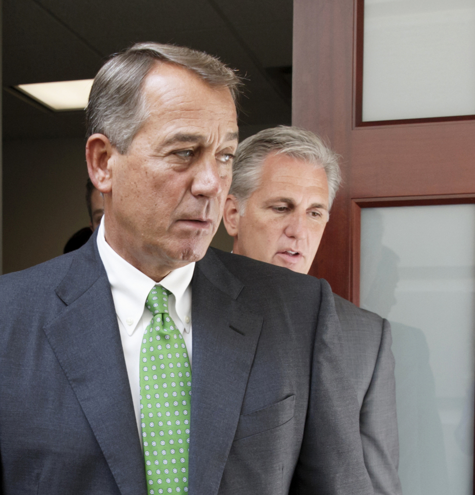 The new deadline for Congress to raise borrowing limits means that House Speaker John Boehner, left, who announced he's stepping down at the end of the month, may still be in office when the issue is addressed.