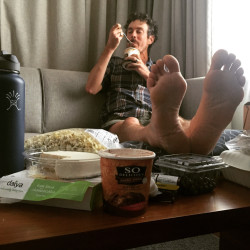 Scott Jurek's post-AT splurge included a night at The Press Hotel in Portland, with lots of vegan desserts and other high-calorie snacks on the menu.