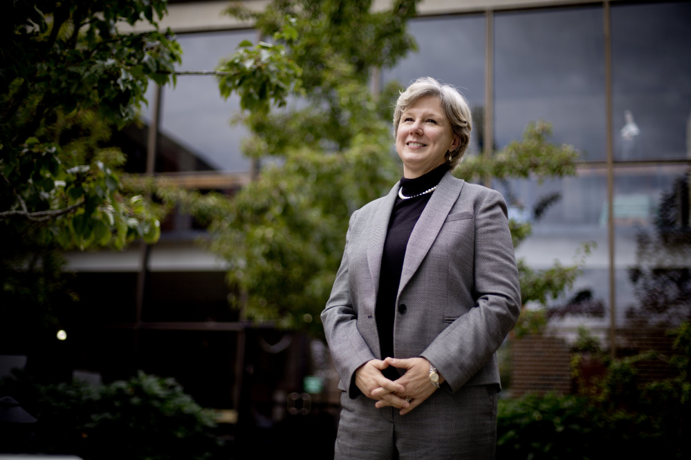 """Head of School Kathryn Barr says she hopes that ending McAuley's Catholic ties will """"open the doors to other girls,"""" although the school has always welcomed students from all religious backgrounds."""