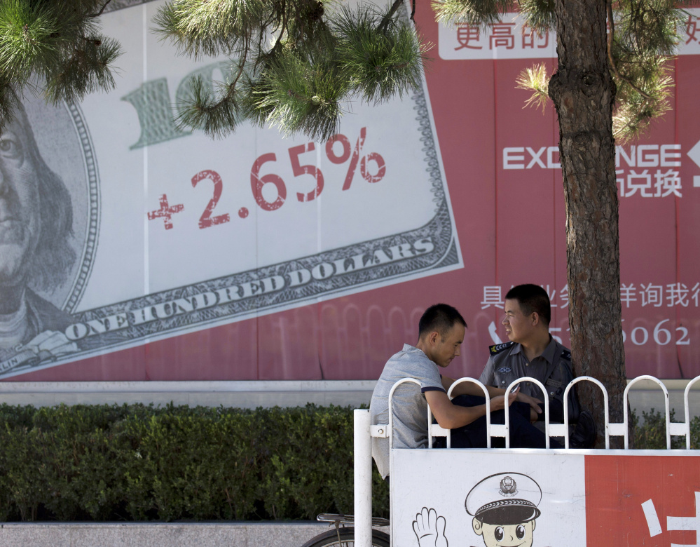 As the economy slows in China, the world's outlook has dimmed. A few months ago, the hope was that consumers, fueled by job growth, cheaper gas and higher home values, would drive the U.S. economy through a global slump.