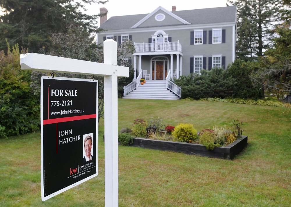 Realtors say Maine home sales are expected to remain strong in the coming months, a good sign for this property on the market near Back Cove in Portland. RE/MAX reported that 1,781 home purchases were pending in the state in September, a double-digit percentage increase from the same period in 2014.