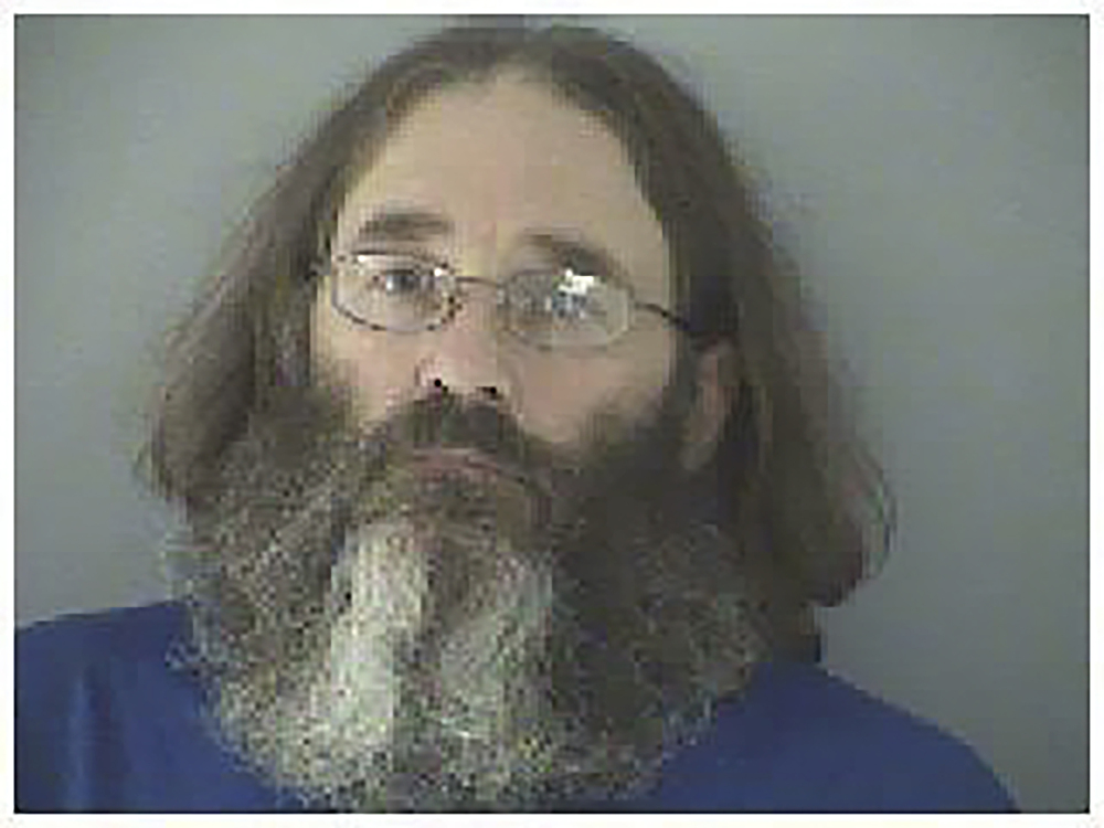 James Hammes of Lexington, Kentucky, was arrested by federal agents in May near the Appalachian Trail in Damascus, Va.