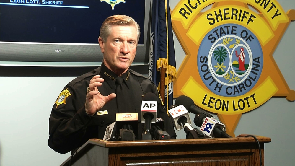 Richland County Sheriff Leon Lott calls on the public to shoot more, rather than less video of police activity.
