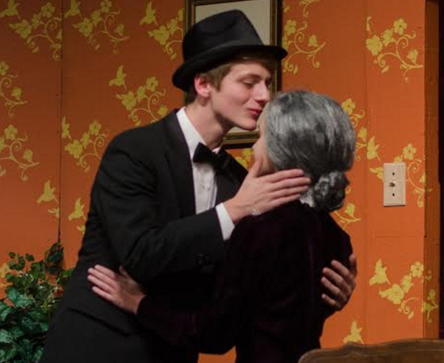 Oak hill high to present 39 arsenic and old lace for Farcical black comedy