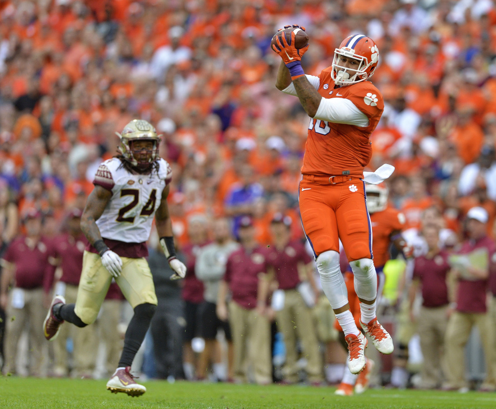 Clemson beat Florida State on Saturday, and became No. 1 in the AP poll on Sunday for the first time since 1981.