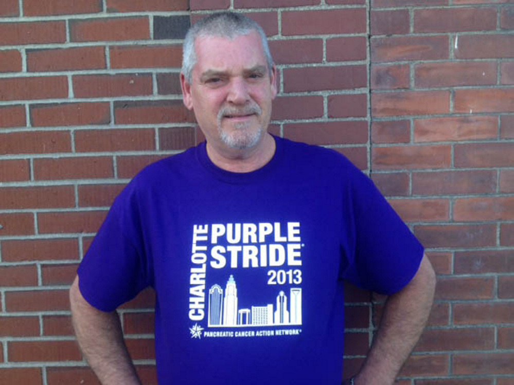 John Long, of Skowhegan, convinced the Skowhegan and Farmington select boards to recognize National Pancreatic Cancer Day Friday.