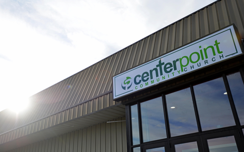 Centerpoint Community Church, formerly Sparetime Recreation, opens Sunday for worship.
