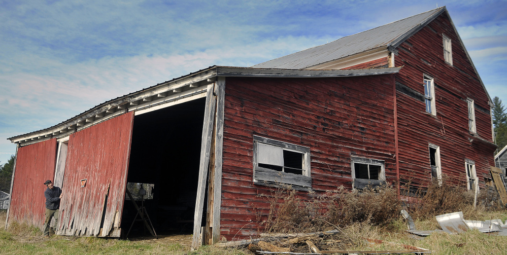 Gallery Vienna Barn Kennebec Journal And Morning Sentinel