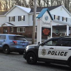 Augusta and state police responded to Edison Drive in Augusta Tuesday afternoon following reports of a bank robbery.