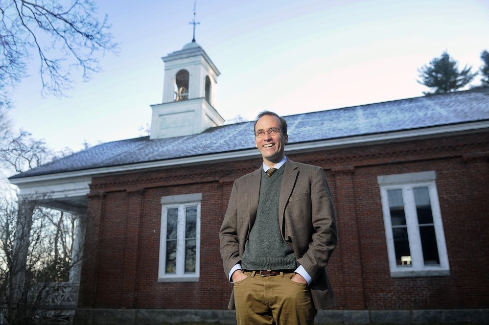Monmouth Middle School principal Scott Barksdale is the school's first full time principal since 2013 when the school unit eliminated the position with the retirement of principal Steve Philbrook.