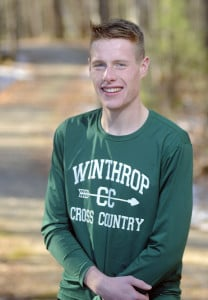 Winthrop High School junior Jacob Hickey is the Kennebec Journal Boys Cross Country Runner of the Year.