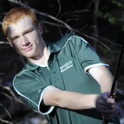 Winthrop High School's Anthony Owens is the Kennebec Journal Golfer of the Year.