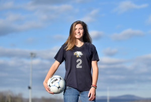 Mt. Blue senior Eryn Doiron is the Morning Sentinel Girls Soccer Player of the Year.