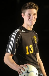 Maranacook senior Kent Mohlar is the Kennebec Journal Boys Soccer Player of the Year.